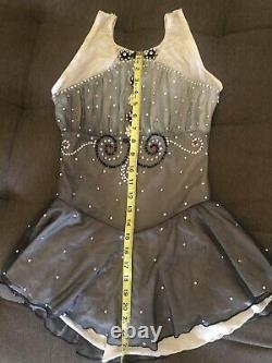 Adult small Figure skating competition dress