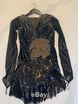 Brand New Tania Bass Couture Figure Skating Dress
