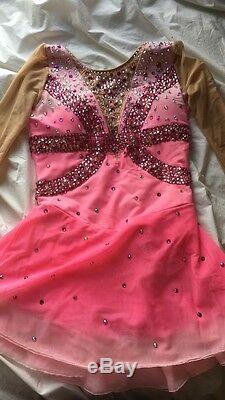 Custom Figure Skating Dress/ lightly used