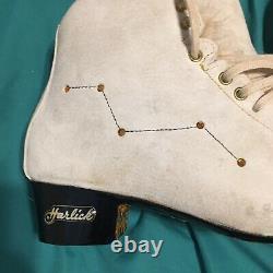 Custom Harlick Figure Skates Fox Fur 7.5