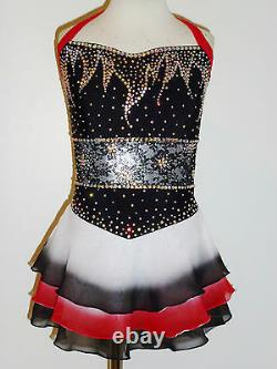 Custom Made To Fit Figure Ice Skating/ Dancing/ Baton/ Twirling Costume