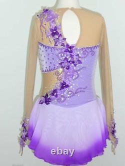 Custom Made To Fit Figure Ice Skating/ Dancing/ Baton Twirling Costume
