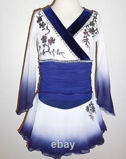 Custom Made To Fit Figure Ice Skating Kimono Costume