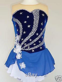 Custom Made To Fit Figure Ice Skating Skating Dress