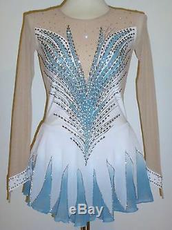 Custom Made To Fit Figure Ice Skating /baton Twirling Costume