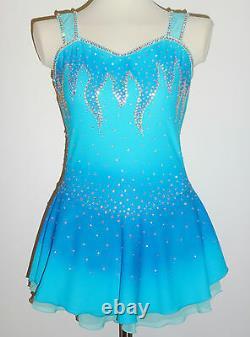 Custom Made To Fit Figure Ice Skating/baton Twirling Costume