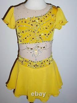 Custom Made To Fit Figure Skating/ Baton Twirling Costume