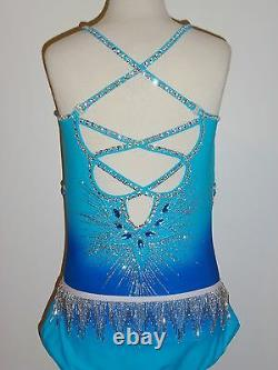 Custom Made To Fit Figure Skating/ Baton/ Twirling Costume