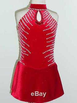 Custom Made To Fit Figure Skating/ Dancing/ Baton/ Twirling Costume