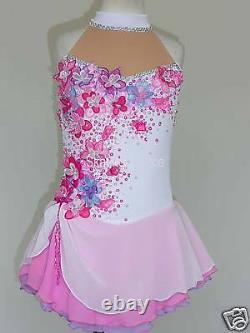 Custom Made To Fit Figure Skating/ Dancing/ Baton/ Twirling Costume