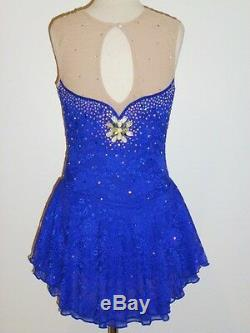 Custom Made To Fit Figure Skating Dress
