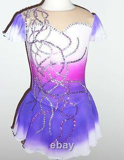 Custom Made To Fit Figure Skating /baton Twirling Costume