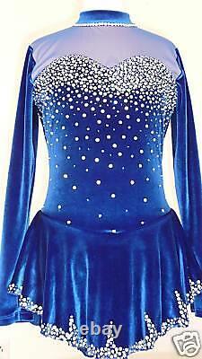 Custom Made To Fit Figure Skating/baton Twirling Costume