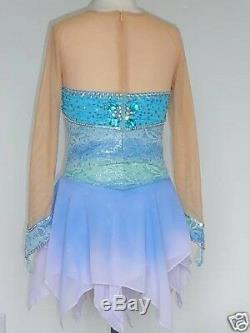 Custom Made To Fit Figure Skating /baton /twirling Costume