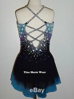 Custom Made To Fit Figure Skating/baton/twirling Costume