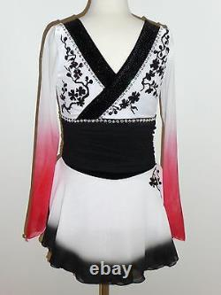 Custom Made To Fit Kimono Figure Ice Skating Costume