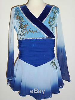 Custom Made To Fit Kimono Figure Skating Dress