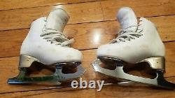 EDEA Figure Skates Chorus (Ivory, Size 205), MK Professional Freestyle 7.75/02O