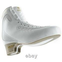 Edea Ice Fly 225 -White Figure Skating Boots New In Box FREE SHIP