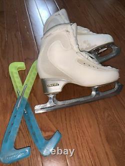 Edea Ice Fly 250 Figure Skates With Paramount Blades 420