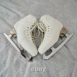 Edea Ice Fly Figure Skates 250 + Graf Jr. Comp 9.25 Blades