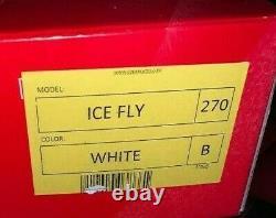 Edea Ice Skate Fly Figure Skating Boot White 270 B