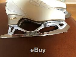Edea Ice fly Figure Boots 250 With Gold Seal Revolution Blades Parabolic 9.25