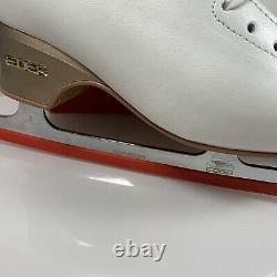 Edea Overture Figure Skates Size UK 3 240 C White Ivory Ice Skating