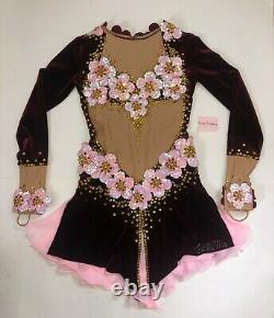 Figure Skating Dress Custom Designed and Made in Ukraine