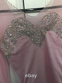 Figure skating competition dress