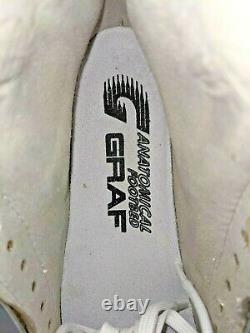GRAF Edmonton Special Girls Figure Skate Boot White 3.5 M 42964 XStiff NEW