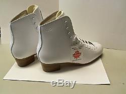 Gam Spectra 070 White Women's Figure Skating Boot 9C