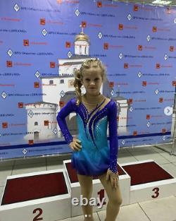 Girls/Adult's Competition Ice Figure Skating Dress/Twirling Baton Tap Costume