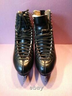 Harlick Gold Tester Mens Dance Model Figure Skates size 8-8.5 MK Blade