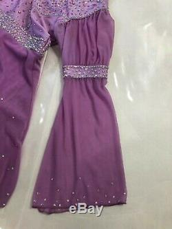 Ice Figure Skating Dress Customized Crystallization Size Adult Small