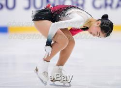 Ice Skating Dress. Figure Skating Competition Dress. Twirling Baton Dance Custom