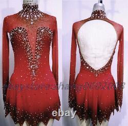Ice skating dress. Competition Figure Skating Dress /Baton Twirling Dance Dress