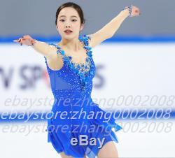 Ice skating dress. Competition figure skating dress. Baton twirling dance costume