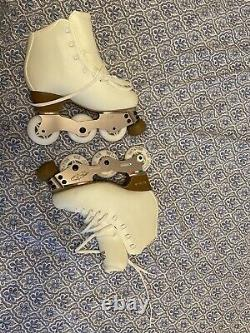 In-line off ice skates rollers artistic figure skating Edea With Box Never Used