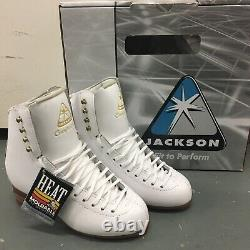 Jackson Competitor Figure Skating Boots 4.5 B