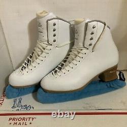 Jackson Elle Figure Ice Skates Women's Misses Size 10W Mirage Blades