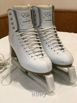Jackson Elle Mirage Figure Ice Skates FS2130 Womens Size -10 W White