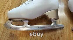 Jackson Ultima Matrix Supreme Blades Size 8 Edea Overture Figure Skating Shoes