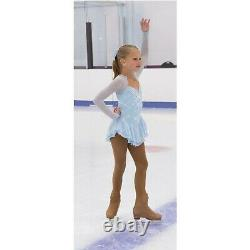 Jerry's Figure Skating Dress 471 Ice & Snow Size Youth 6-8