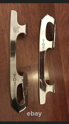 John Wilson Gold Seal 9 1/2 Inch Figure Skating Blades Good Condition