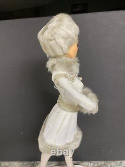 Katherine's Collection Opalescent Woman Ice Skating 19 Figure Doll Christmas