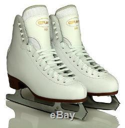 Ladies Ice Figure Skates, GRAF 500, Leather, Sizes UK 6 UK 8