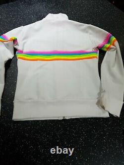 Logos Milano Figure Skating White Unicorn Top, Jacket & Skirt Worn Once Age 12