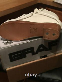 NEW Graf Galaxy 7 L Figure Skate Skating Boots Made in SWITZERLAND