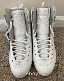 NEW Jackson Finesse DJ 2510 Women's Figure Skating Dance Synchro Boots 8C
